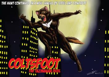 Coltsfoot the were tazmanian devil by ziggywolf