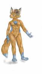 fox dude by ziggywolf