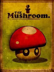 Super Vintage Mushroom by Design91