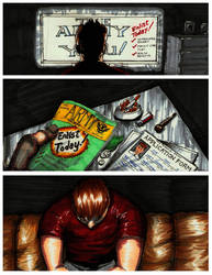 B.Y.O.B. A graphic Novel Class Project pg. 2 by KRONOMATIK