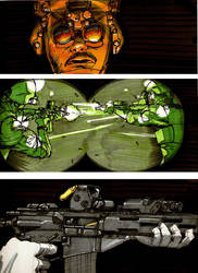 B.Y.O.B. A graphic Novel Class Project pg. 6 by KRONOMATIK