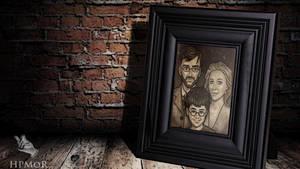 Potter-Evans-Verres family portrait by Korn-Elia
