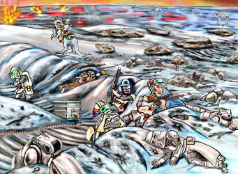 Battle of Hoth - For Freedom! by Tiefgrund