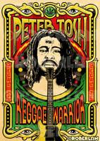 Peter Tosh Reggae Warrior by roberlan