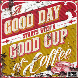 A Good Day Starts With Coffee by roberlan