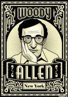 Woody Allen by roberlan