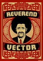 Reverend Vector Poster by roberlan