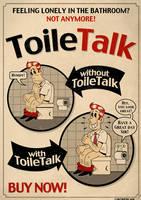 ToileTalk Fake Ad by roberlan