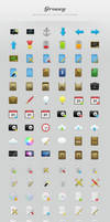 Groovy Icon Set by MateToth