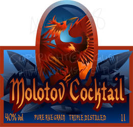 Molotov Cocktail by AugustAnna