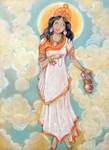 Shree Brahmacharini Devi. Navaratri. Day 2. by Jeshta