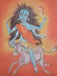 Shree Kalaratri Devi. Navaratri. Day 7. by Jeshta
