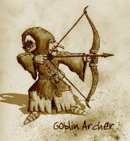 Goblin Archer by Mortis-of-midian