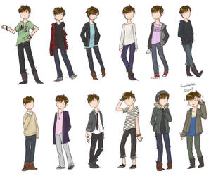 outfits by kinrikit
