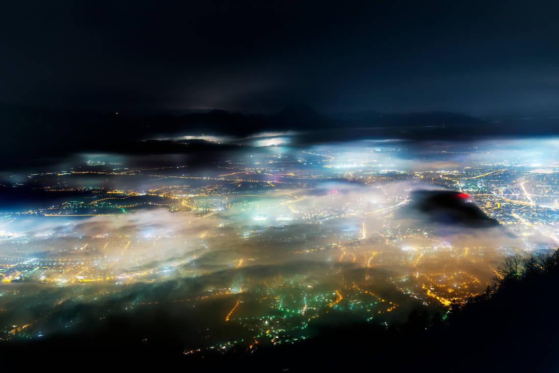 Colourful Fog by CaveCanem42