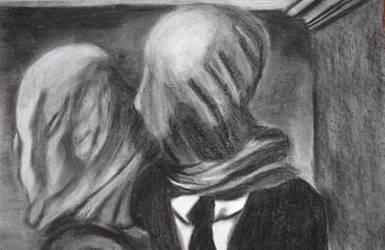 Rene Magritte Recreation by lesliecreveling