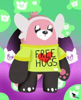Bewear Wants Hugs by CloudyZu