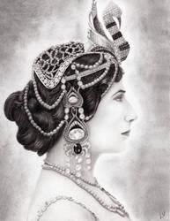 Mata Hari by whiterayven