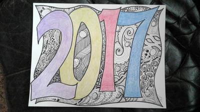 Happy 2017 by whiterayven