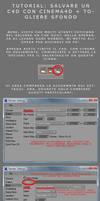 Salvare un C4D Cinema 4D by Son-Baby