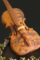 The Cedar Violin by brandonBEAN