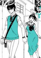 Going to School by nicoyguevarra