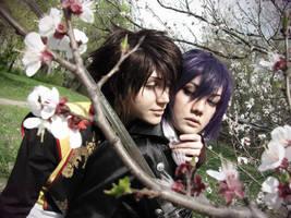 Saito and Okita by Diyriko