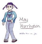 May Harrington by jellybeansniper
