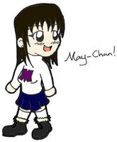 May-Chan by jellybeansniper