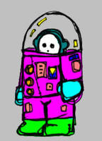 Spaceman by billiambabble