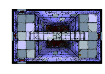 Dungeon Room - Bridge DnD Tile by billiambabble