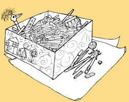 Pen Box for story w.i.p. by billiambabble