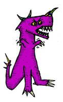 Angry Purple by billiambabble