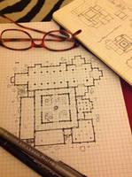 Planning a floor plan by billiambabble