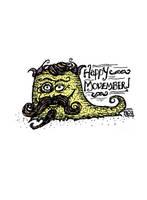 Movember Monster by billiambabble