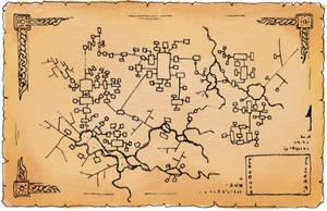 Dungeon Map by billiambabble