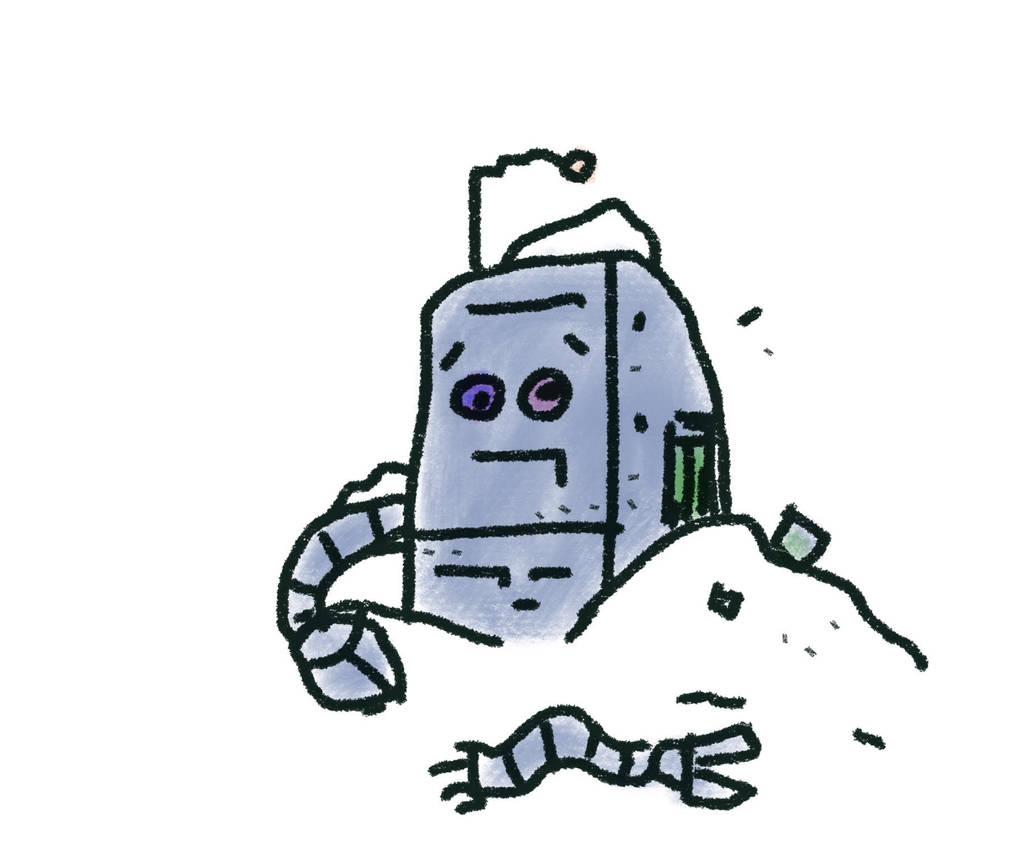 Winter Robot by billiambabble