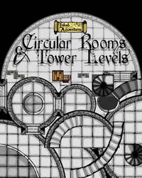 Cover graphic for dungeon floor plans by billiambabble