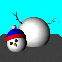 Snow Man- 3D training by billiambabble