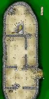DnD floor plan Burial Barrow by billiambabble
