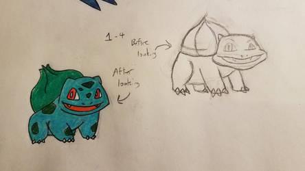 Pokemon-A-Day #001: Bulbasaur by GarrodWindfang