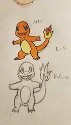 Pokemon-A-Day #004: Charmander by GarrodWindfang