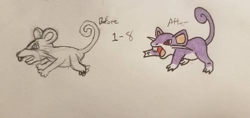Pokemon-A-Day #019: Rattata by GarrodWindfang