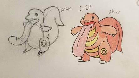 Pokemon-A-Day #108: Lickitung by GarrodWindfang