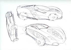 Car Sketches 6 by Powerblock