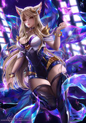 KDA Ahri by Reivash