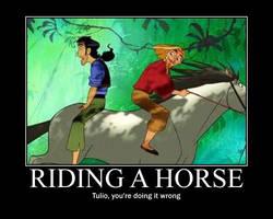 Riding A Horse by XxForbidden-LoveXx