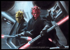 Darth Maul legacy Star Wars 7 by FredrikEriksson1