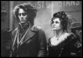 Johnny Depp and Helena Bonham Carter by FredrikEriksson1