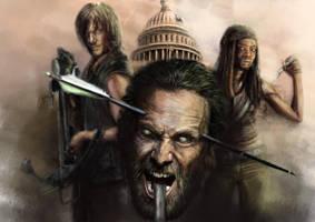 The Walking dead by FredrikEriksson1